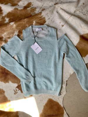 Allude Cashmere Jumper pale blue-light blue cashmere