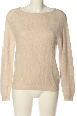 Allude Pullover in cashmere crema stile casual
