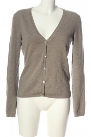 Allude Cashmerepullover wollweiß meliert Casual-Look