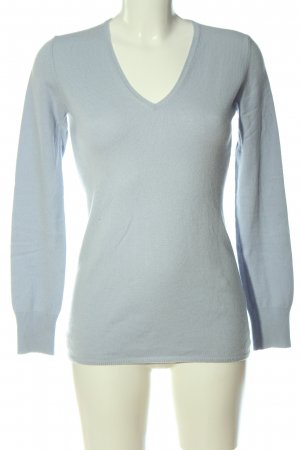 Allude Kasjmier trui blauw casual uitstraling