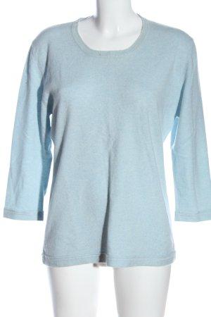 Allude Cashmerepullover blau Casual-Look