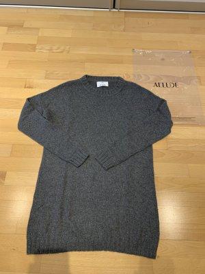 Allude Pullover in cashmere grigio scuro Cachemire