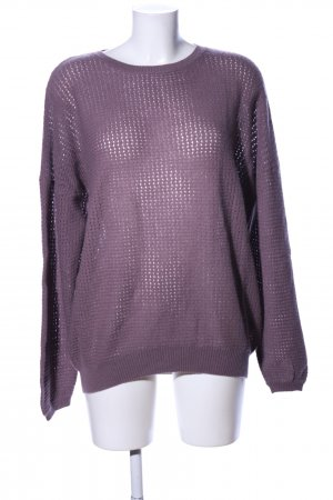 Allude Kaszmirowy sweter fiolet W stylu casual