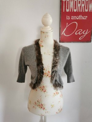 Allude Knitted Bolero multicolored cashmere