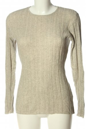 Allude Fine Knit Jumper natural white casual look