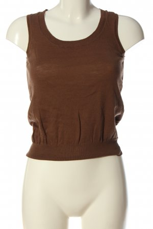 Allude Fine Knitted Cardigan brown casual look