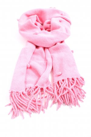 Allude Fringed Scarf pink casual look