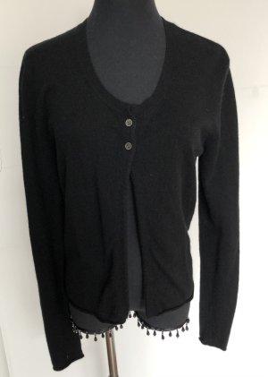Allude Giacca in maglia nero