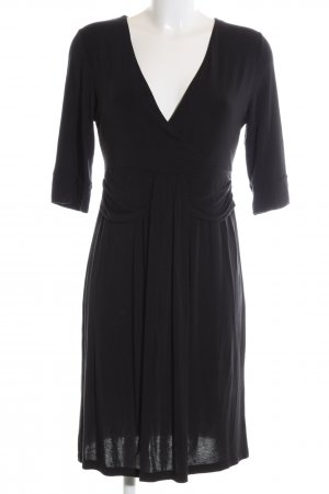 Allude Jerseykleid schwarz Casual-Look