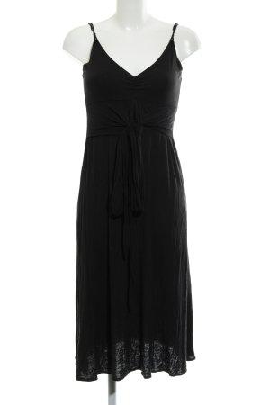 Allude Sukienka z dżerseju czarny W stylu casual