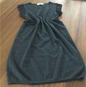 Allude Mini-jurk grijs-donkergrijs Kasjmier
