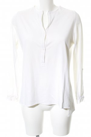 Allude Long Sleeve Blouse white casual look