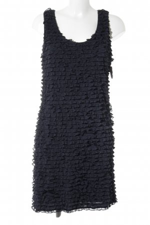 Allude Mini Dress dark blue business style