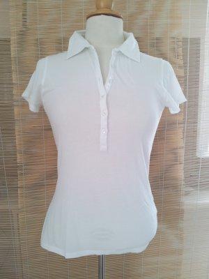 Allude Polo Shirt white cotton