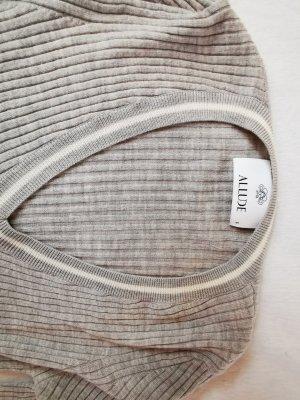 Allude Sweater light grey
