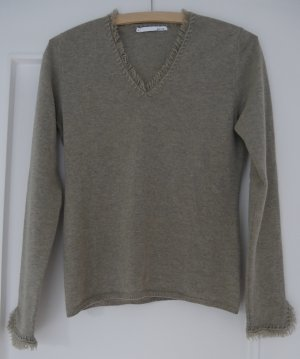 Allude Cashmere Jumper light brown cashmere
