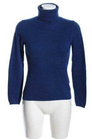 Allude Turtleneck Sweater blue casual look