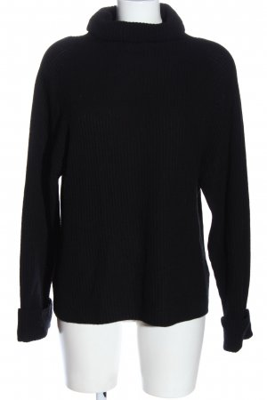 Allude Coltrui zwart casual uitstraling