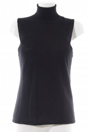 Allude Rollkragentop schwarz Business-Look