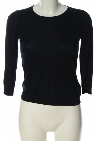 Allude Crewneck Sweater black casual look