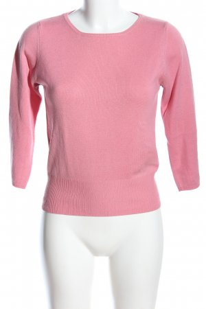 Allude Crewneck Sweater pink casual look