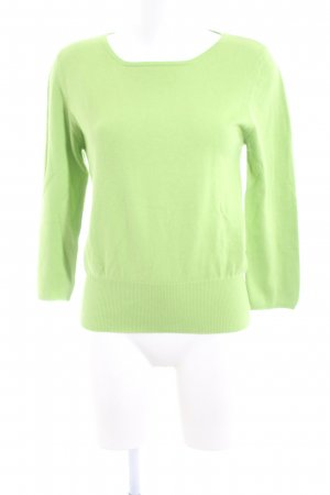 Allude Crewneck Sweater green casual look