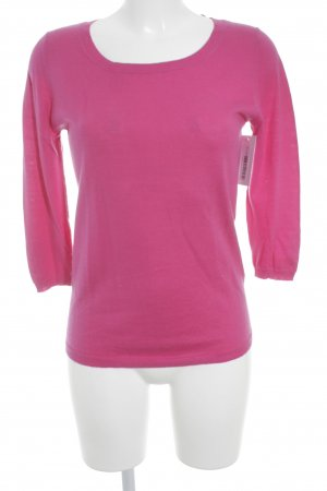 Allude Rundhalspullover pink Casual-Look
