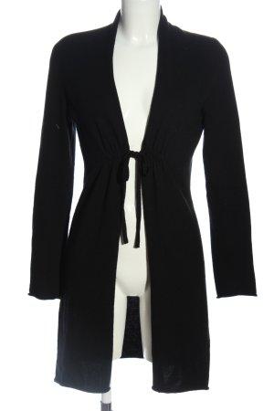 Allude Cardigan in maglia nero stile casual