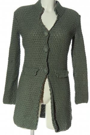 Allude Knitted Cardigan khaki casual look