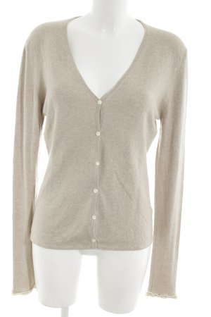 Allude Cardigan gold-colored flecked elegant