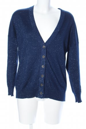 Allude Strickjacke blau meliert Casual-Look
