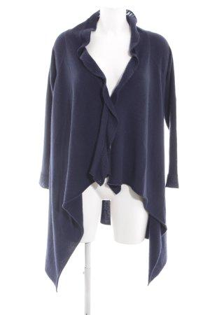 Allude Płaszcz z dzianiny niebieski W stylu casual