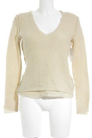 Allude Gebreide trui beige klassieke stijl