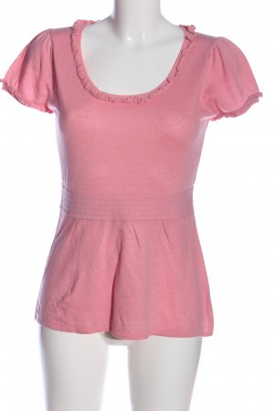 Allude Knitted Jumper pink casual look
