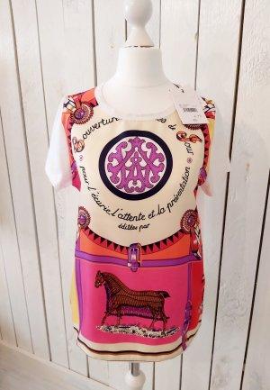 Allude T-Shirt mit Druck Größe XS 34 Neu m. Etikett