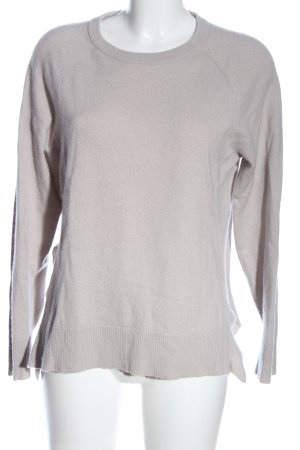 Allude Wollpullover hellgrau Casual-Look