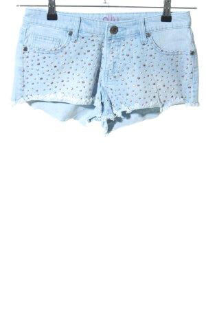ally Denim Shorts blue elegant