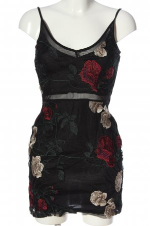 ally Pinafore dress black party style