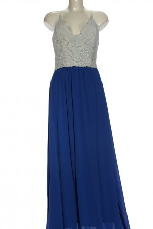 Allyson Collection Maxi Dress white-blue elegant