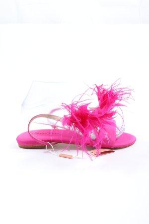 Alma en Pena Sandales confort rose élégant