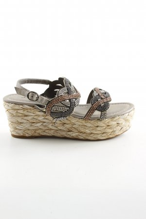 Alma en Pena Plateauzool sandalen veelkleurig casual uitstraling