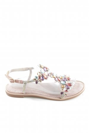 Alma en Pena Strapped Sandals multicolored