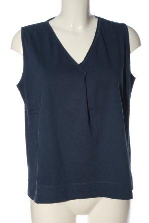 Alma & Lovis Blusa senza maniche blu stile casual