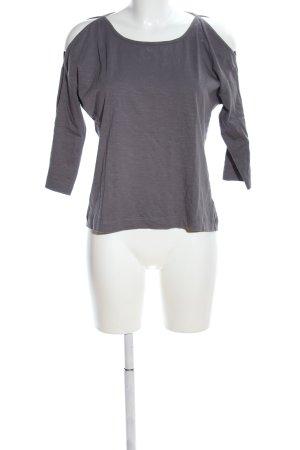 Alma & Lovis T-shirt jasnoszary Melanżowy W stylu casual