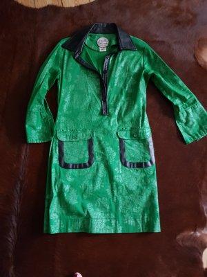Almatrichi Vestido de manga larga negro-verde