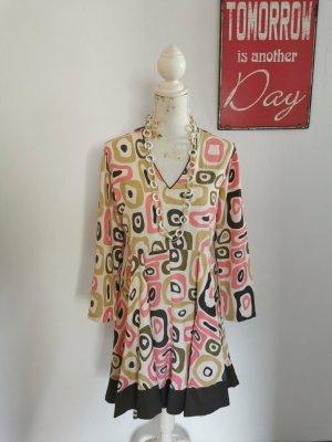 Almatrichi A-lijn jurk veelkleurig Polyester