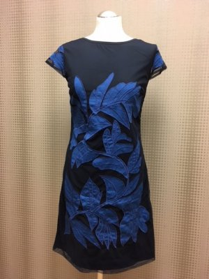 Almatrichi Sheath Dress dark blue-steel blue polyacrylic