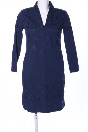 Almatrichi Stretch Dress blue flower pattern elegant