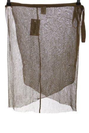 Almeria Wraparound Skirt brown party style