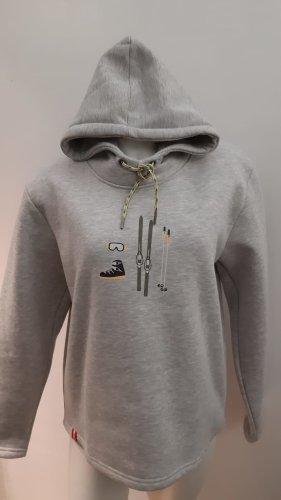 Almgwand Capuchon sweater grijs